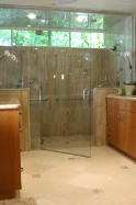 Butte Glass and Beaverhead Glass install custom interior glass and mirrors as well.